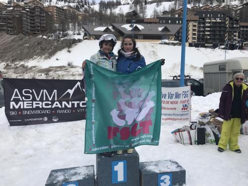Compétition du 20 Janvier 2018 - isola 2000